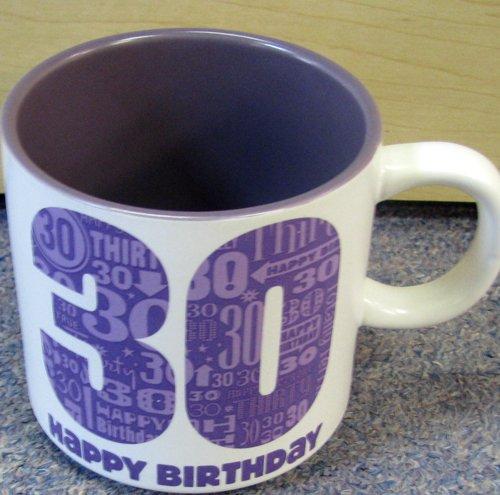 Hallmark Birthday Bdy1226 Happy 30Th Birthday Mug