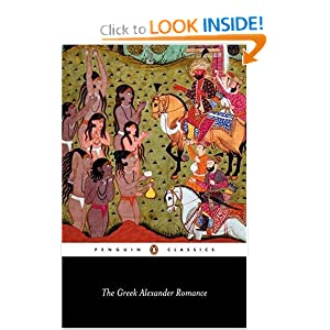 Amazon.com: The Greek Alexander Romance (Penguin Classics ...