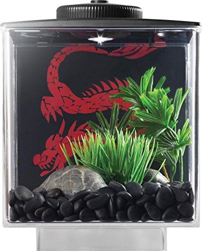 ELIVE 034160 Betta Cube with Led Light Black, 0.75 gallon (Betta Fish Cube compare prices)