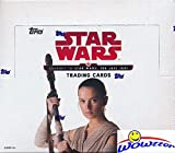 2017 Topps Journey to Star Wars: The Last Jedi MASSIVE Factory Sealed Retail Box with 24 Packs & 144 Cards! Includes 24 Parallels & 24 Insert Cards! Look for Autographs, Sketch Cards & Relics! WOWZZER