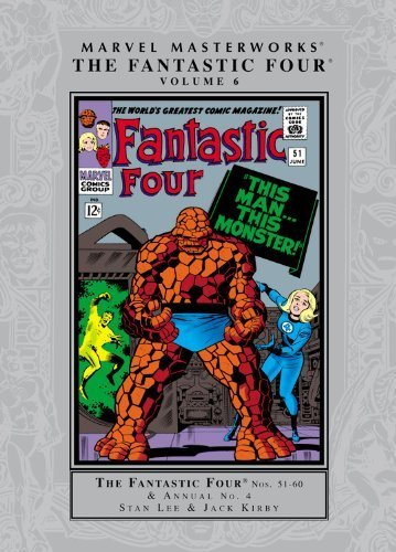 Marvel Masterworks - The Fantastic Four - Volume 6 by Lee, Stan (2011) Paperback