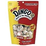 Dingo Rawhide Bones, Mini, 21-Count Value Bag