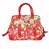 Room Seven Wickeltasche Diaper Bag Print Bages Bonjour Red Rot