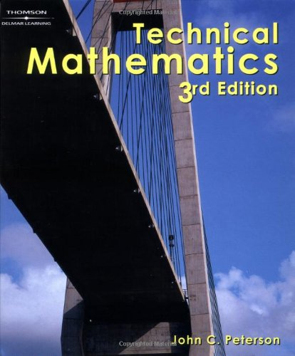 Technical Mathematics, 3E