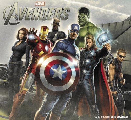 The Avengers 2013 Calendar