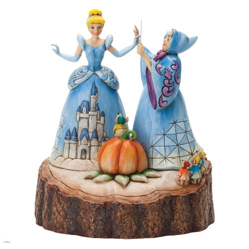Jim Shore For Enesco Disney Traditions Cinderella Carved By Heart Figurine, 9-Inch