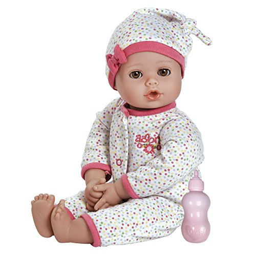 "Adora Playtime Baby Light Skin With Brown Eyes 13"" Doll, Dot"