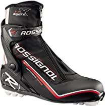 Rossignol X-8 Cross Country Ski Boots Black/Silver Mens Sz 10-10.5 (44)