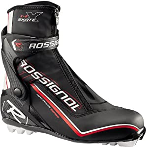 Buy Rossignol X-8 Cross Country Ski Boots Black Silver Mens by Rossignol