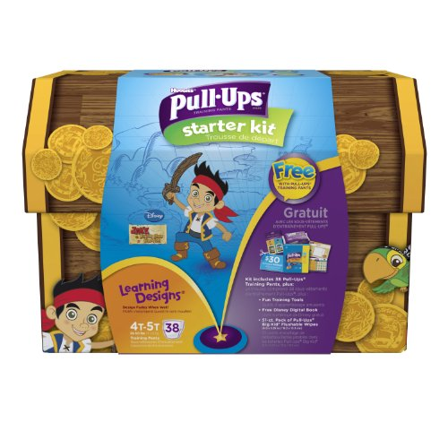 Huggies Pull-ups 4t-5t Learning Designs Training Kits Boys - 38 Count Jake the Pirate - 1