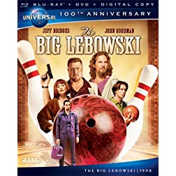 The Big Lebowski [Blu-ray + DVD + Digital Copy] (Universal's 100th Anniversary)