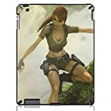 Tomb Raider Hard Protection Cases Covers for iPad 2/3/4 iMCA-CP-4485 i Pad Tablet PC Housing
