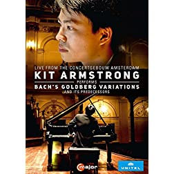 Kit Armstrong Performs Bach's Goldberg Variations and it's Predecessors