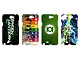Wholesales 4pcs Green Lantern Fashion Hard back cover skin case for samsung galaxy note n7100-n7gl4002