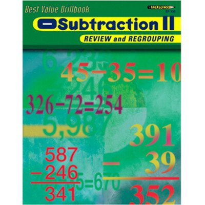 Subtraction 2 Review & Regrouping By Edupress - 1
