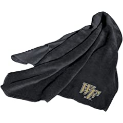 Brand New Wake Forest Demon Deacons NCAA Fleece Throw Blanket by Things for You