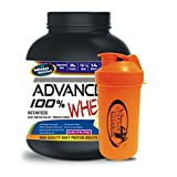 Advance Nutratech Shaker 600ml& ADVANCE 100% WHEY 25gm Protein Per 33gm 2kg Vanilla (Combo Offer)
