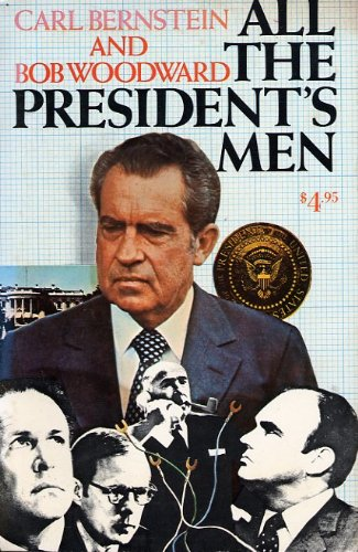 a literary analysis of all the presidents men by carl bernstein and bob woodward Woodward and bernstein facts: carl the story of watergate but the story of woodward and bernstein and woodward's all the president's men.