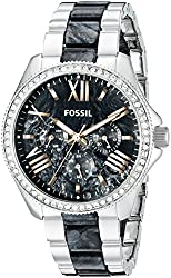 Fossil Cecile Multifunction Stainless Steel and Acetate Watch