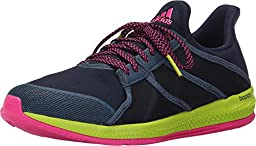adidas Performance Women\'s Gymbreaker Bounce Training Shoe,Collegiate Navy/Blue/Shock Pink,9.5 M US