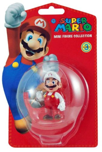 Goldie International Super Mario Bros. Fire Mario Figure - 1