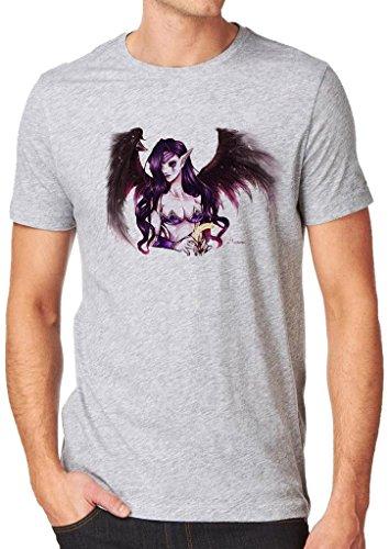 League of Legends Morgana Fallen Angel Shirt Custom Made T-shirt (XL)
