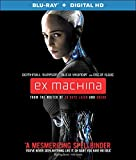 Ex Machina (エクス・マキナ) [Blu-ray (ブルーレイ) + Digital HD] 英語 北米版