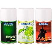 Airance Automatic Room Freshner Air Freshener Spray Perfume Refill - Khus (Vetiver), Refreshing Lime & Musk -...