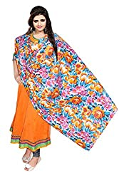 Nakoda Women's Cotton Printed Dupatta