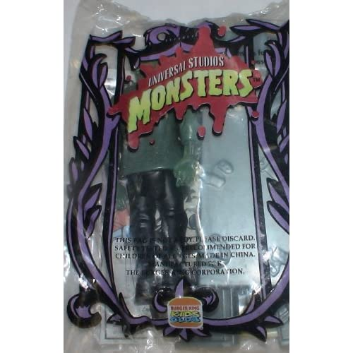 Vintage Unopened Kids Meal Toy  Universal Monsters Frankenstein