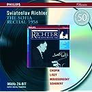 Chopin / Liszt / Mussorgsky / Schubert: The Sofia Recital 1958