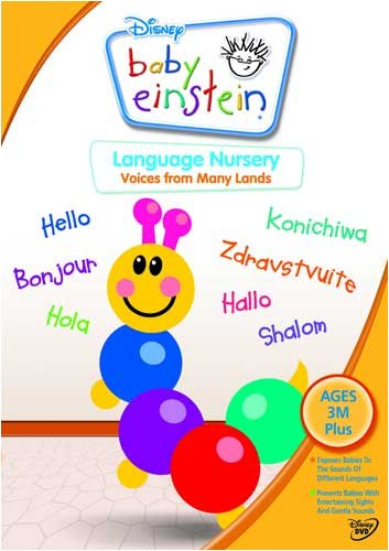 Baby Einstein - Language Nursery [DVD]