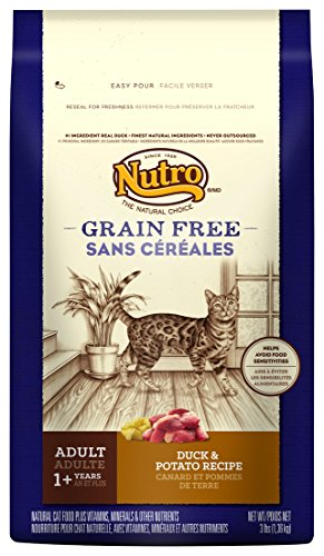 Nutro Grain Free Adult Cat Duck & Potato Recipe