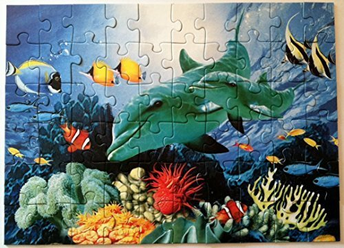 Ravensburger-Dolphin-Duo-60-Piece-Puzzle