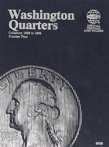 Washington Quarters: Collection Starting 1988, Number Four (Official Whitman Coin Folder)
