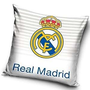 Amazon.com : Real Madrid Crest Cushion (White) : Sports & Outdoors