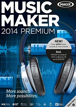 MAGIX Music Maker 2014 Premium [Download]