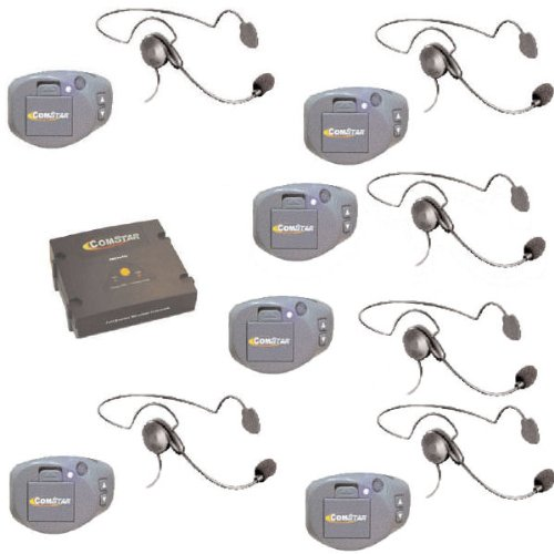 Comstar Digital Full Duplex Wireless With 6 Headsets