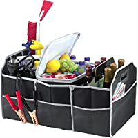 Collapsible 3-Section Car Trunk Organizer for Free