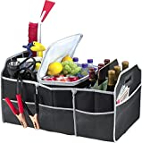 Imperial Home 2 in 1 Trunk Organizer & Cooler Set - Fully Collapsible and Portable Ez Storage 2 Piece Set