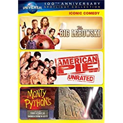 Iconic Comedy Spotlight Collection (The Big Lebowski / American Pie / Monty Python's The Meaning of Life)