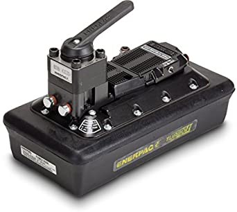 Enerpac PAMG-1405N Turbo II Air Hydraulic Pump with 4 Way Manual Valve and 4.2 Liter Reservoir