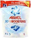 Ariel Stain Remover White 3D Boosters (Pack of 4, Total 112 Tablets)