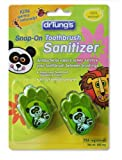 Dr. Tung's Kid's Toothbrush Sanitizer, Kids, 2 Count