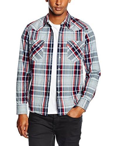 Levi's Camicia Uomo Casual [Blu Grigio]