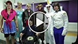 Boston Bruins Don 'Frozen' Halloween Costumes for...