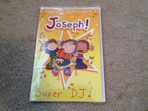 Happy Birthday Joseph - Singing Birthday Card - 1