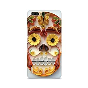 Mobicture Skull Premium Printed Case For Huawei Honor 6 Plus