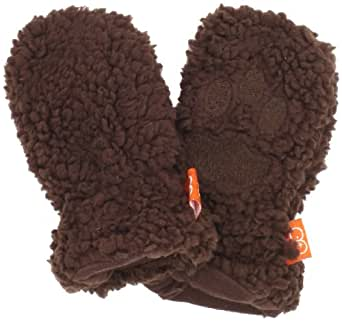 Magnificent Baby Unisex-Baby Infant Mocha Bear Mittens, Mocha, 18-24 Months