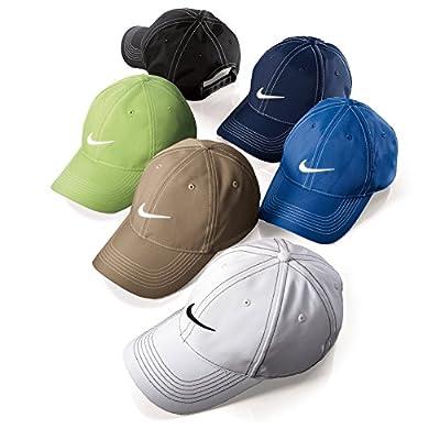 Nike Golf Classic Swoosh Front Cap Adjustable Back